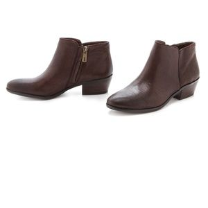 Sam Edelman | Petty Ankle Booties in Dark Brown